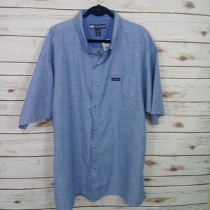 Big Dogs Chambray Button Down Shirts Size 2X NWT